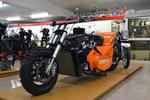 Hossstyle V8 Dirt Drag Bike with 327 cu in. small block Chevrolet engine