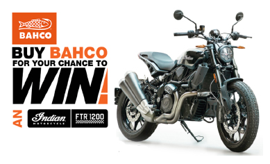Win an Indian FTR 1200 with Bahco
