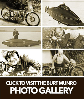 View our Gallery of Burt Munro related photos