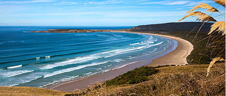 The Catlins coastline